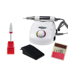 Frezarka manicure pedicure dm208 moc 40w biała + frez ceramiczny