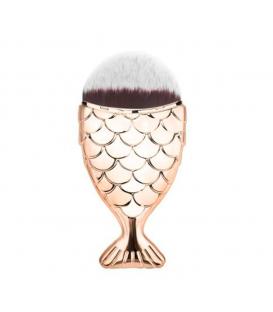 Pędzel rybka Kabuki do makijażu/ pyłu Różowe Złoto