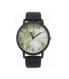 Zegarek damski męski pasek unisex zielony Marmur