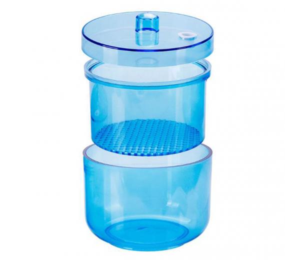 Pojemnik do dezynfekcji frezów wierteł sterillbox Niebieski