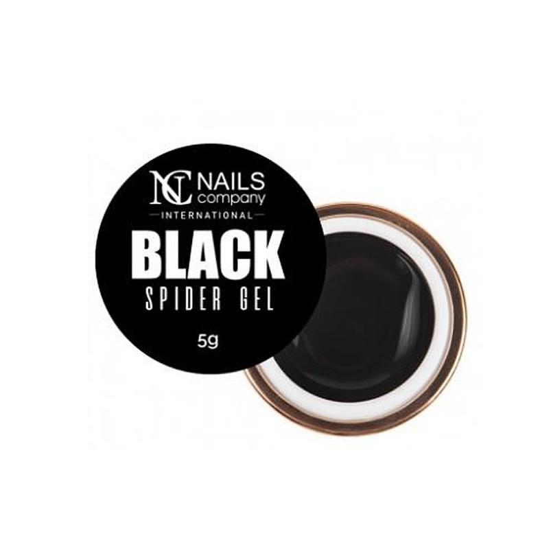 Nails company spider gel geometryczny do zdobień black 5g