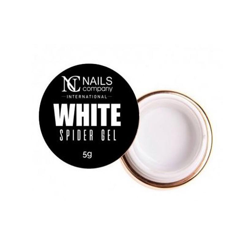 Nails company spider gel geometryczny do zdobień white 5g