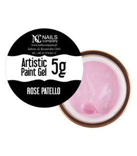 Nails company artistic paint gel do zdobień 5g jasny róż