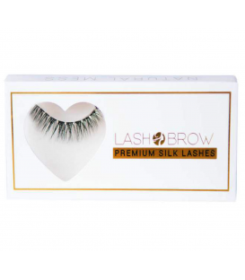 Lash Brow premium silk lashes rzęsy na taśmie Natural mess