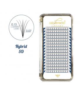 Cashmere Lashes hybrid 5D wonder lashes C 0,07 i 0,15 mix 9-14