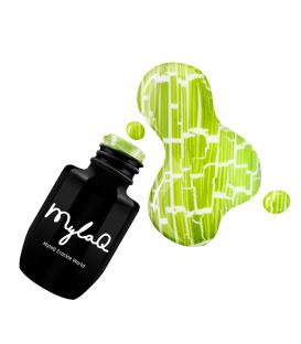 MylaQ Crackle lakier hybrydowy 5ml Green Forest M077 pękający