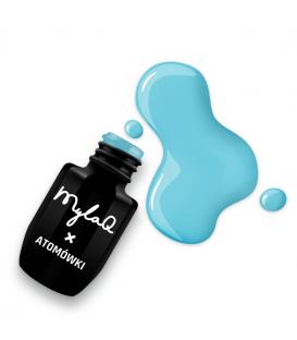 MylaQ X Atomówki lakier hybrydowy 5ml Ice Breath M090
