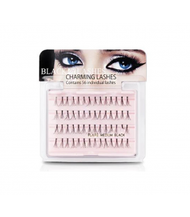 Black Lashes Kępki 13 mm Charming Lash MEDIUM