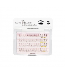 Black Lashes Kępki Charming Lash MIX