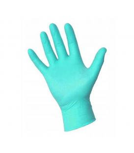 Rękawiczki Ideal nitrylowe bezpudrowe lazurowe XS