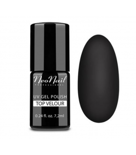 NEONAIL TOP MAT VELOUR DO MANICURE HYBRYDOWEGO 7,2ml