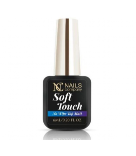 Nails company nowy top mat soft touch - efekt satynowy 6ml