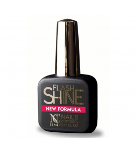 Nails company flash shine uv protect top hybrydowy 11 ml nowa formuła