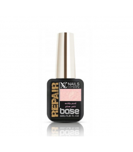 Nails Company baza repair base Milky Pink Glam Gold 6ml