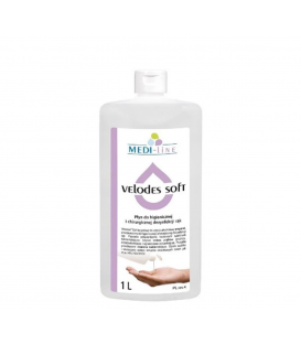 Velodes soft 1 l - płyn - dezynfekcja rąk