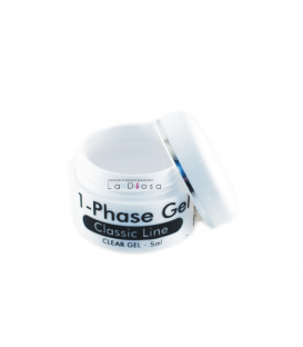 Żel uv 1- phase gel clear 5g
