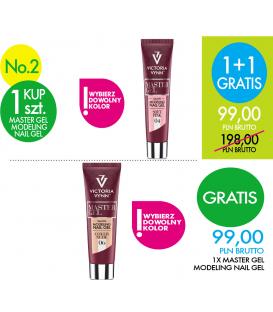 PROMOCJA Victoria Vynn 1+1 gratis Master Gel Wybierz Kolor