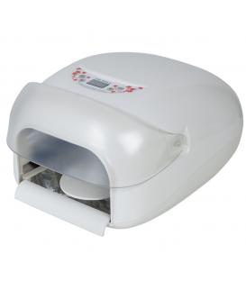 Neonail lampa cyfrowa do manicure hybrydowego LCD biała