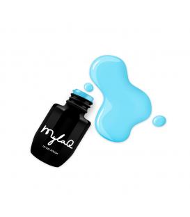 MylaQ X Atomówki lakier hybrydowy 5ml Yellow Power M097