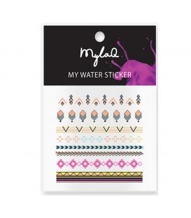 MylaQ naklejki na paznokcie My Aztek Sticker