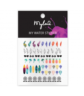 MylaQ naklejki na paznokcie My Holiday Sticker
