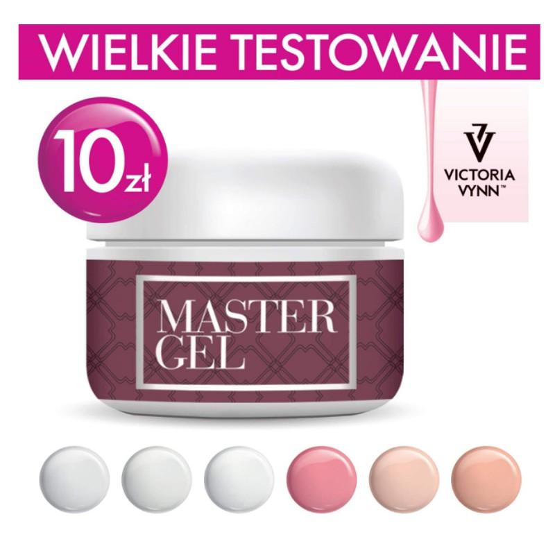 Victoria Vynn Master Gel 5g akrylożel Totally Clear