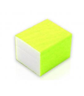 10x mini blok polerski 4 stronny polerka żółty