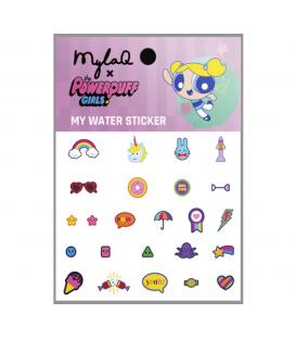 MylaQ naklejki wodne na paznokcie Powerpuff 3