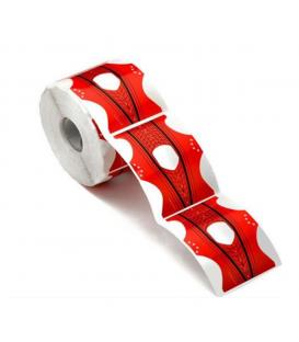 Szablony formy szerokie szpice red 50 szt.