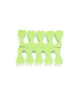 Separatory do pedicure - zielony 2 sztuki