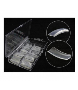 Tipsy 100szt clear przezroczyste w pudełku - długa kieszonka