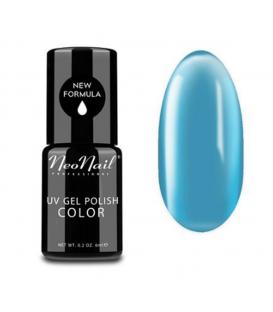 Neonail candy girl 4674  Lakier hybrydowy - Soft Blue