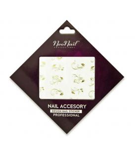Neonail Water Sticker naklejki wodne na paznokcie kwiatki