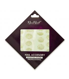 Neonail Water Sticker naklejki wodne na paznokcie wzorki1
