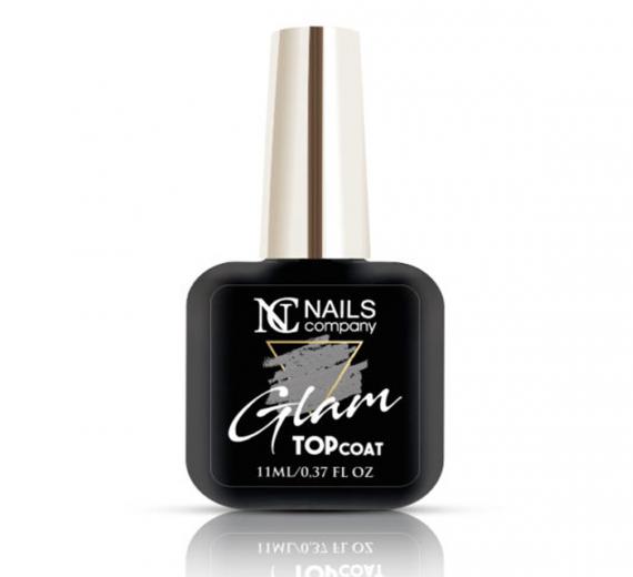 Nails Company Glam Top Coat Gold top z drobinkami 11ml