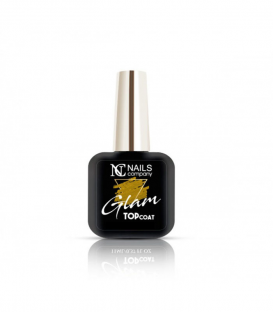 Nails Company Glam Top Coat Gold top z drobinkami 6ml