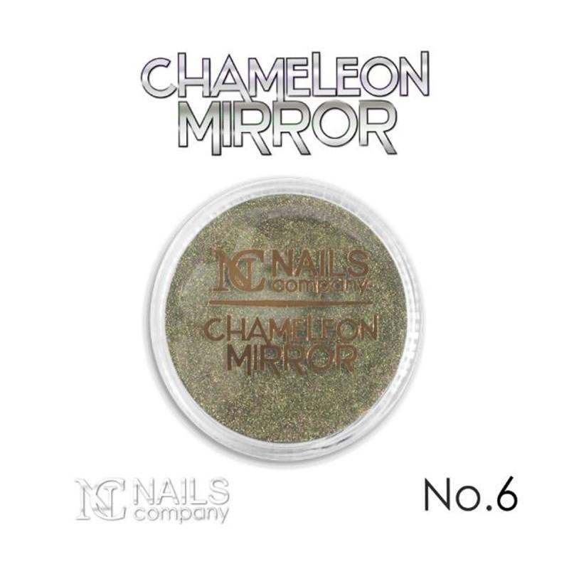 Nails company mirror chameleon powder no.6 / 0,5g