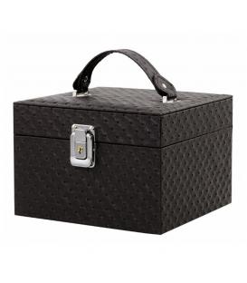 Kufer kosmetyczny fioletowy