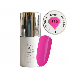 Semilac Lakier hybrydowy Pink Bang 555