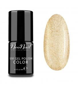 Neonail grunge 3626 Lakier hybrydowy - Glitter Gold