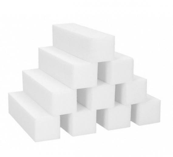 Blok polerski biały - zestaw 10 sztuk