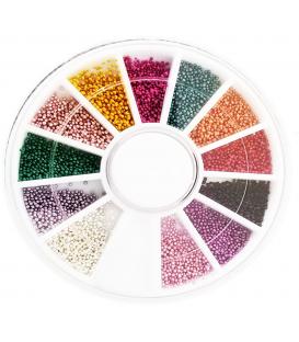 KARUZELA OZDOBA Bulion na paznokcie Mix kolorów K4