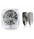 Prisma Effect do paznokci Płatki Alu Silver Laser + pacynka