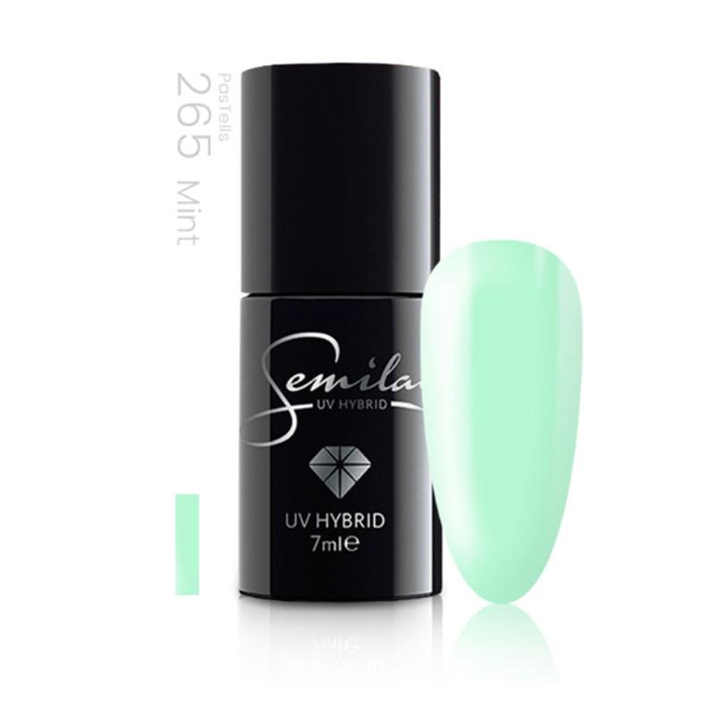Semilac lakier hybrydowy pastells mint 265