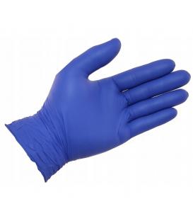 Rękawiczki nitrylowe bezpudrowe granatowe rozmiar L 200szt