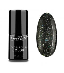 Neonail grunge 3625 Lakier hybrydowy - Black Confetti