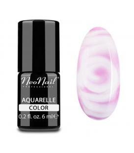 NeoNail Lakier Hybrydowy 6 ml - Pink Aquarelle 5504