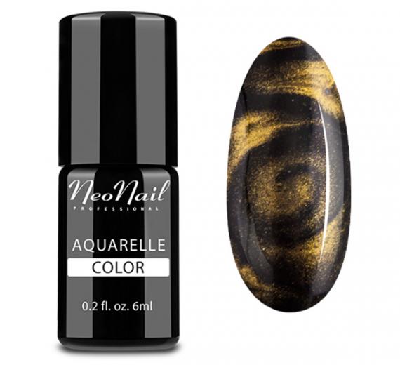 NeoNail Lakier Hybrydowy Aquarelle GOLD ZŁOTY