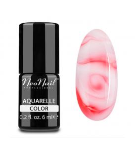NeoNail Lakier Hybrydowy 6 ml - 5753 Red Aquarelle