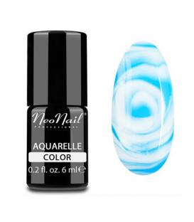 NeoNail Lakier Hybrydowy 6 ml - Blue Aquarelle 5512